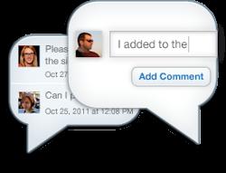 box comment discussion